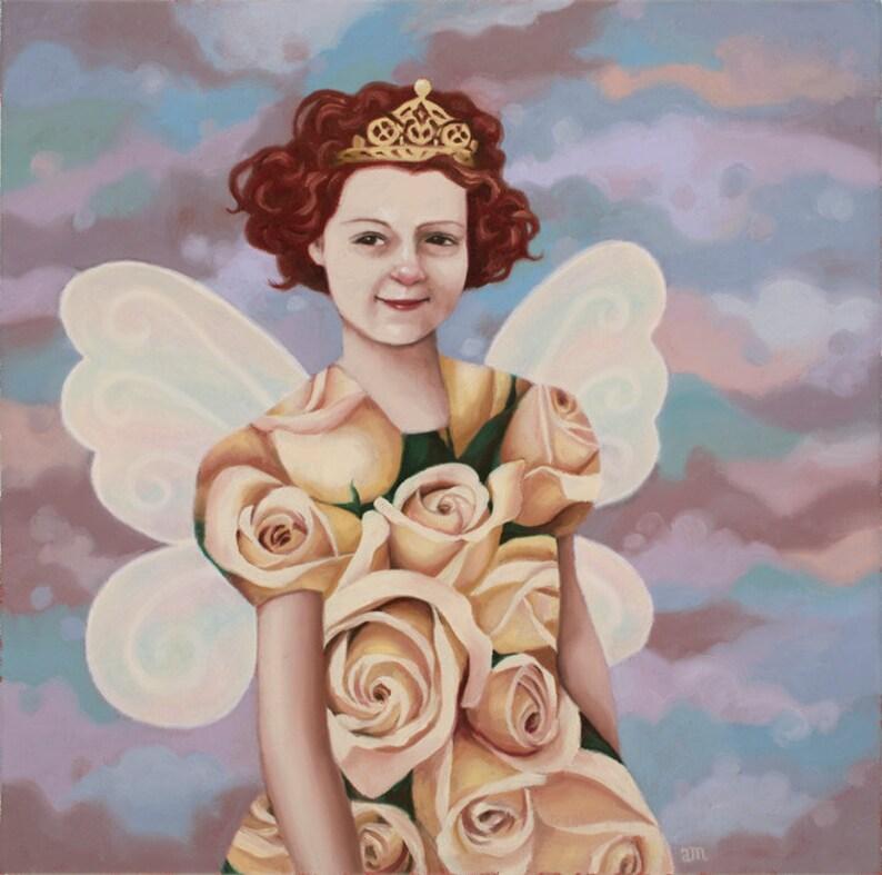 Rose Fest Jr. Queen  Fine Art Print image 0