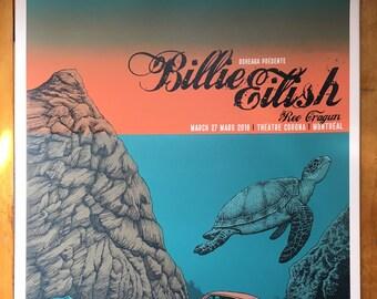 Billie Eilish 18 x 24 Limited edition Screen print