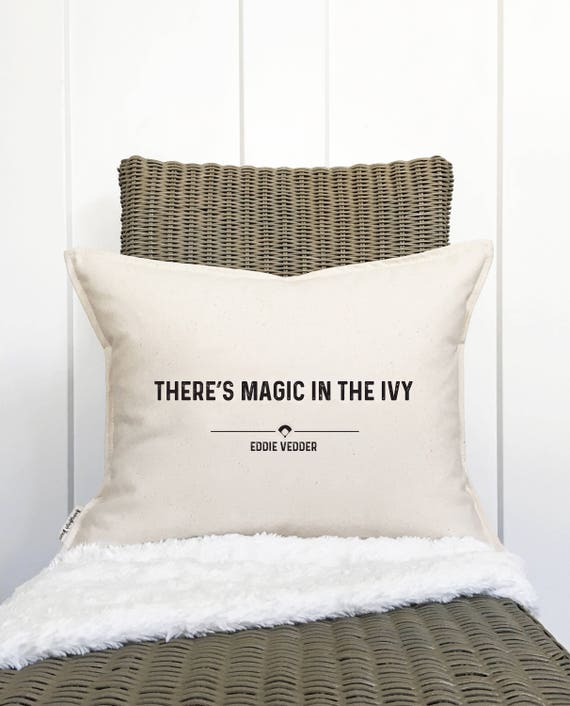 Magic in the Ivy Pillow Cover