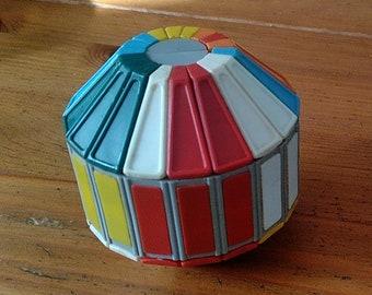 Vintage Soviet Olidjus (ОЛИДЮС or Olidius) 1990's - Brain Teaser Logic Game, Russian Collectible Twisty Puzzle