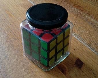 grigorusha Rubik's Cube 3x3 in a Jar - Impossible Bottle