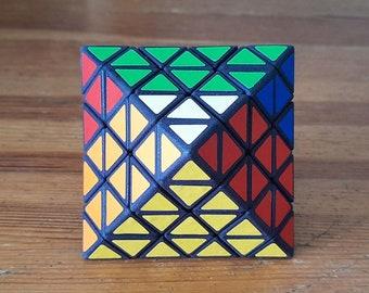 Octatero by El Cubitero (rare hand made SLS puzzle similar to Rubik's Cube 3x3x3 and Pyraminx)