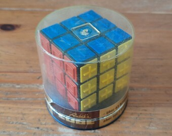 Vintage Blind Rubik's Cube 1981 from Hungary ARXON - Brain Teaser Logic Game, Collectible Twisty Puzzle