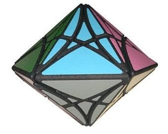 Hexa Rex Dipyramid by Seth Holiday (rare hand made SLS puzzle similar to Rubik's Cube 3x3x3 and Pyraminx)