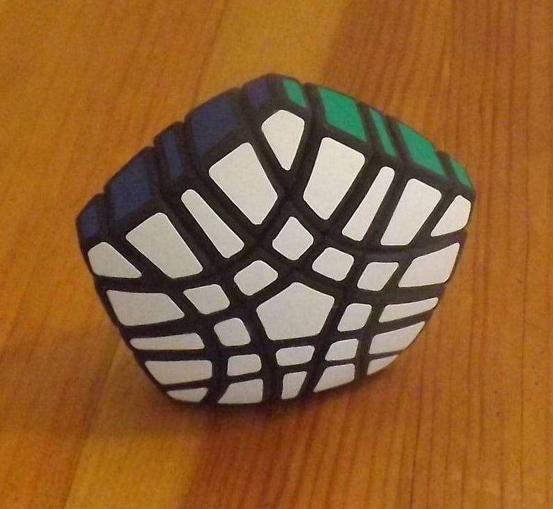 grigorusha Slim Gigaminx rare hand made SLS puzzle similar to image 0