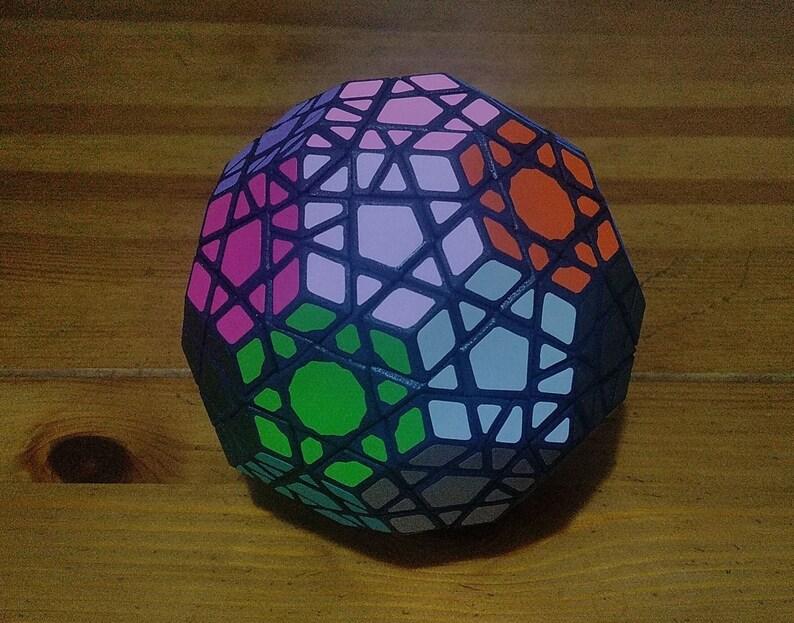 grigorusha DeltaMinx rare hand made SLS puzzle similar to image 0