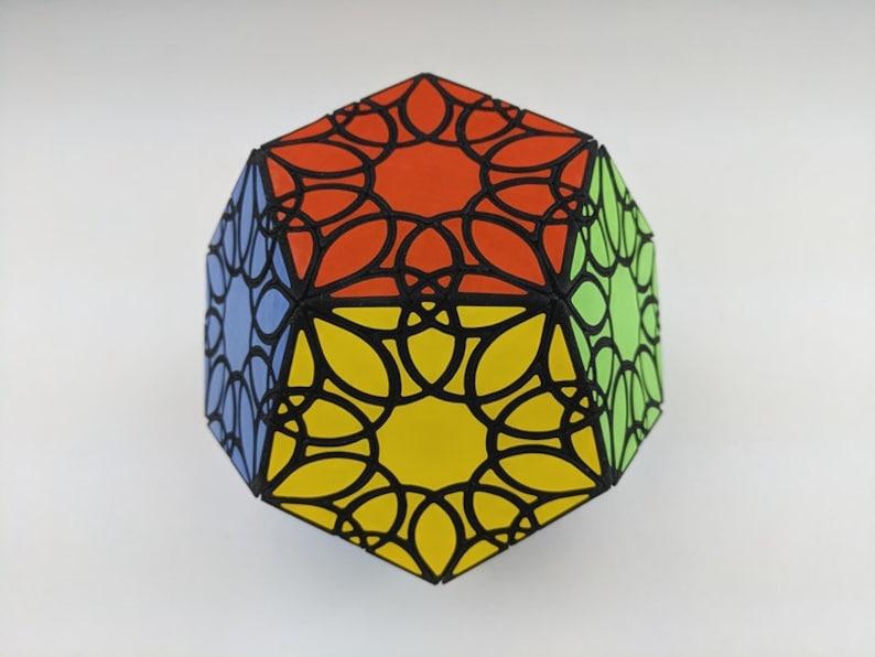 Pitcher's Mandala Dodecahedron rare hand made SLS puzzle image 0