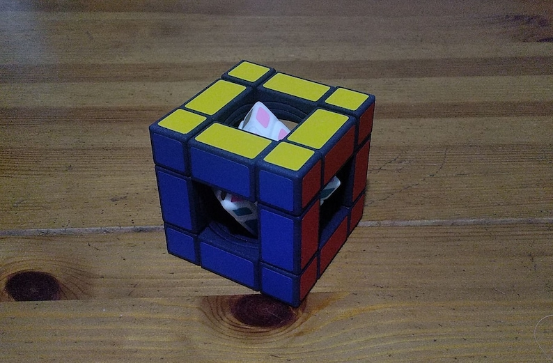 grigorusha Hyperoid Cube rare hand made SLS puzzle similar to image 0