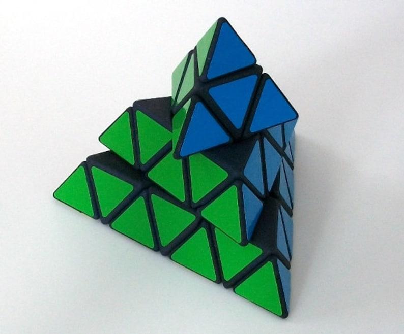 Timur's Clockwork Master Pyraminx rare hand made SLS image 0