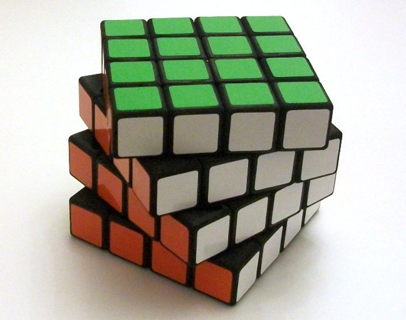 Timur's Clockwork 4x4x4 Cube rare hand made SLS puzzle image 0