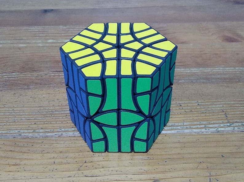Hexcopter 18 by Joseph Wong rare hand made SLS puzzle similar image 0