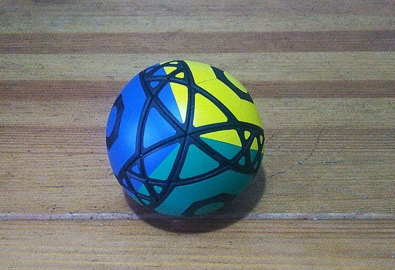 grigorusha Kaleidoscope Ball Rare hand made DLP puzzle image 0