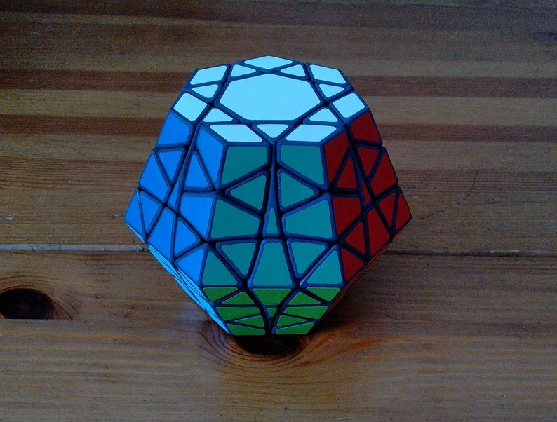 Hepta-Gem by Joseph Wong rare hand made SLS puzzle similar to Full 16-Colors