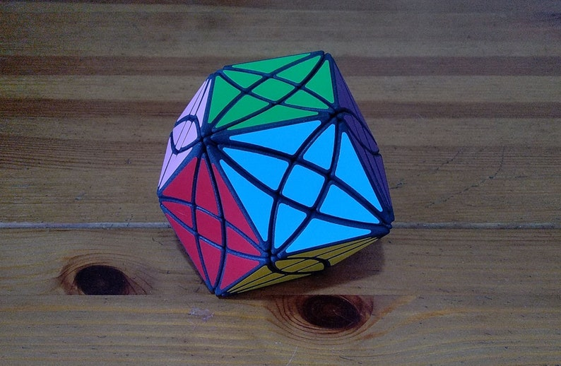 William Rex Rhombic Dodecahedron  RRD rare hand made SLS image 0