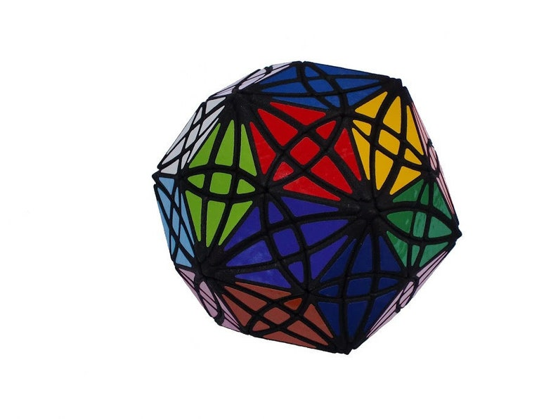 William Rex Rhombic Triacontahedron  RRT rare hand made SLS image 0
