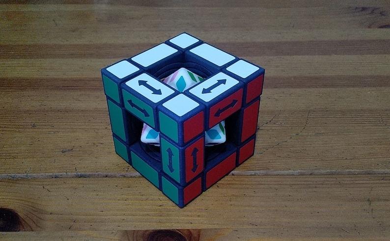 grigorusha Hyperoid Cube Plus rare hand made SLS puzzle v3 (3 bridges)