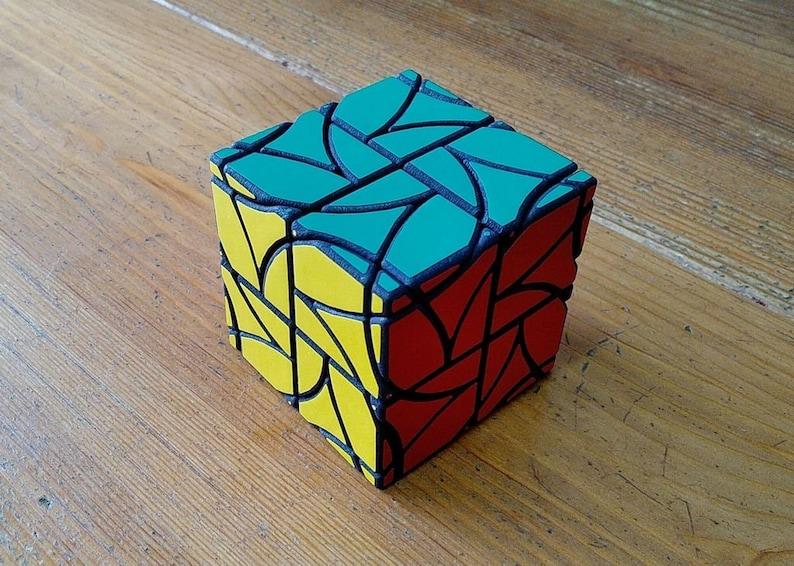 Oskar Krystian's Cube rare hand made SLS puzzle similar image 0