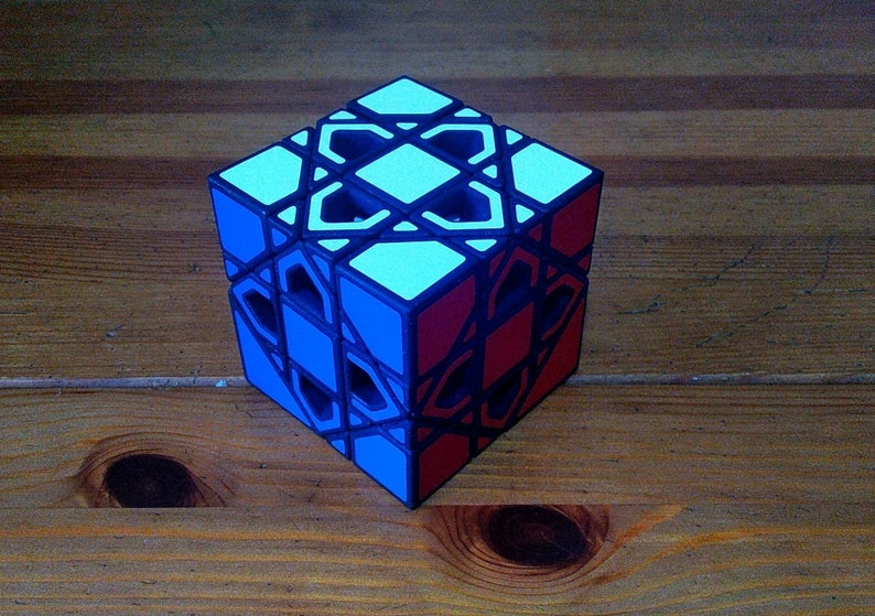 William Modular Cube rare hand made SLS puzzle similar to image 0