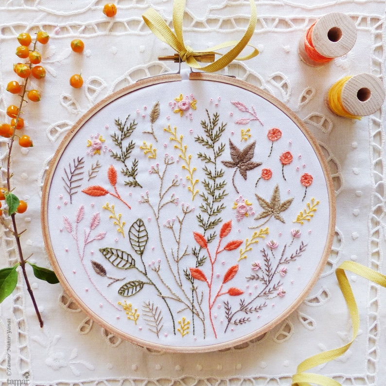 Modern hand embroidery Craftily creative Embroidery kit  image 0