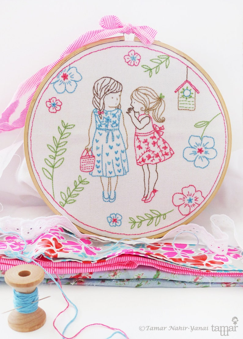 Baby Girl Nursery Ideas Christmas Ideas Embroidery Kit 2 Etsy