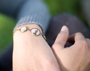 Music Bracelet - Art Jewelry - Bronze Bracelet - Unique Jewelry - Designer Bracelet (7-6B)