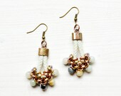 Rope Earrings, Beaded Earrings, Drop Earrings, Gemstone Earrings, Tassel Earrings, Earrings For Women, Earring Inspiration, Gift For Wife