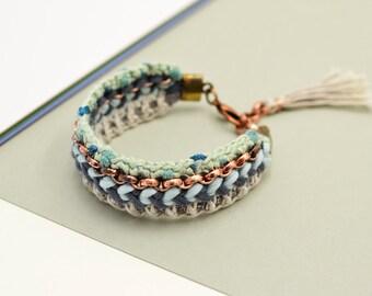 Bracelets OldGold/Copper