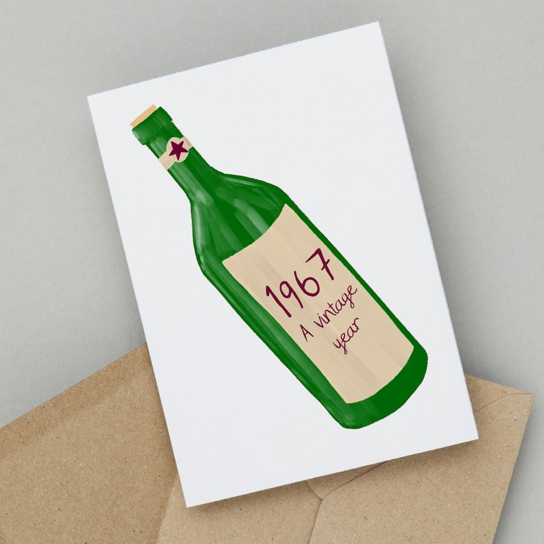 Birthday Cards By So Close A Vintage Year