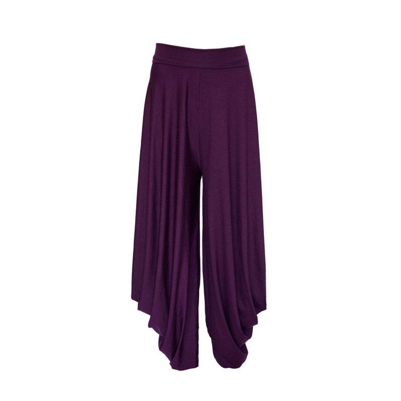 Loose pants Baggy pants plus size drop crotch pants loose boho pants harem pants wide leg yoga pants hippy festival pants yoga pants