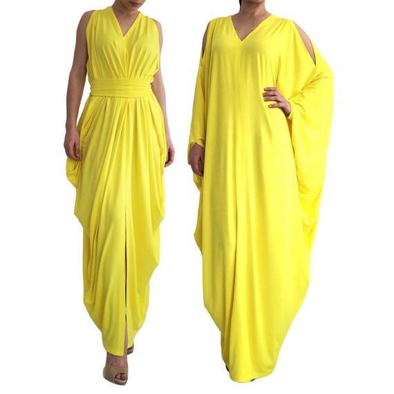 Vestido Tunic Vestido amarillo Size ajuste Kaftan Plus Abaya holgado Maternity de Long largo Summer largo Loose CdBeorxW