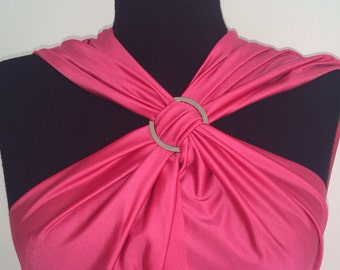 Ring brooch accessory for convertible dress
