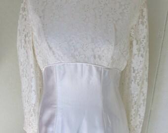 60S Wedding Dress   60s Wedding Dress Etsy