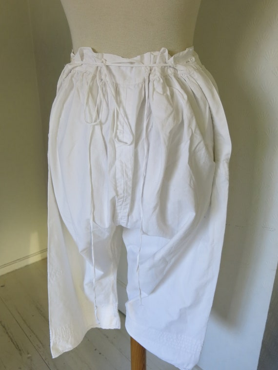 Antique Victorian Bloomers Underpants - image 7