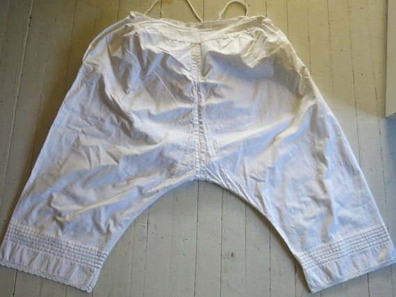 Antique Victorian Bloomers Underpants - image 1