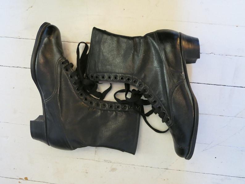 bbea1e22f81f6b Antike viktorianische Stiefel Schuhe ungetragen