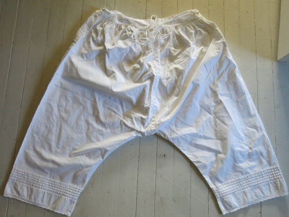 Antique Victorian Bloomers Underpants - image 2
