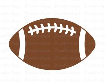 Football SVG, Football Silhouette, Football PNG, Football Cut Files, Svg Files, Cricut Files, Silhouette Files