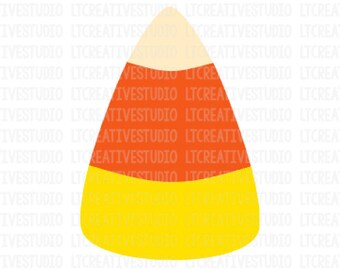 Candy Corn SVG, Candy Corn Clipart Halloween SVG, Eps, Png, Svg Files, Dxf, Silhouette, Cricut