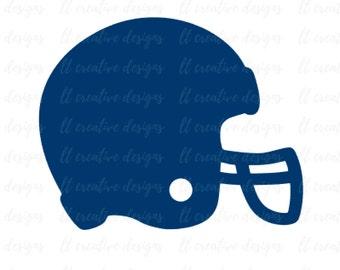Football Helmet SVG, Football SVG, Helmet SVG, Football Cut Files, Cricut Cutting Files, Silhouette Cut Files, Svg Files