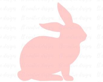 Bunny SVG, Easter SVG, Easter Bunny SVG, Svg File, Siilhouette Cut Files, Cricut Cut Files