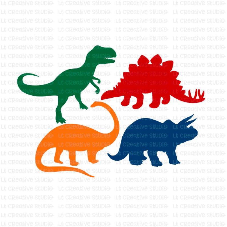 Download Dinosaur SVG T-Rex SVG Dinosaurs Clipart Svg Files Cricut ...