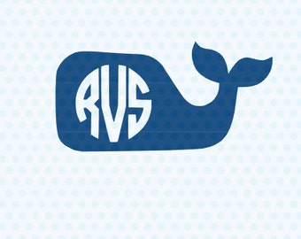 Whale Svg, Whale Frames, Whale Silhouette, Svg Files, Silhouette, Cricut