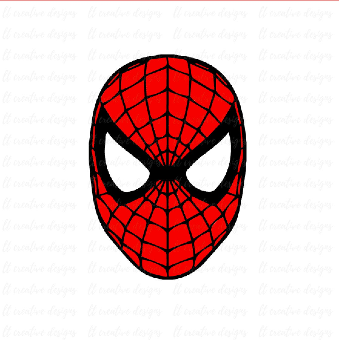 spiderman svg spiderman face svg silhouette cut files etsy