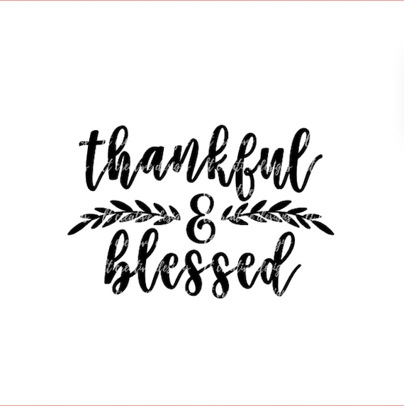thankful and blessed svg fall svg autumn svg thanksgiving etsy