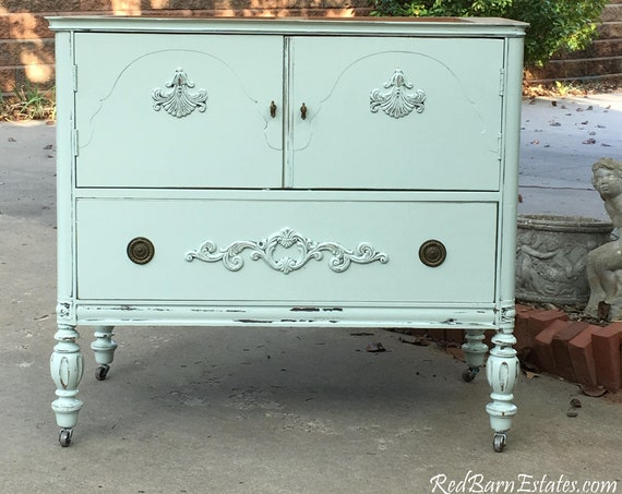 "BATH VANITY CABINET From Antique Dresser Custom To Order Converted For Bathroom 28"" to 48"" Wide"