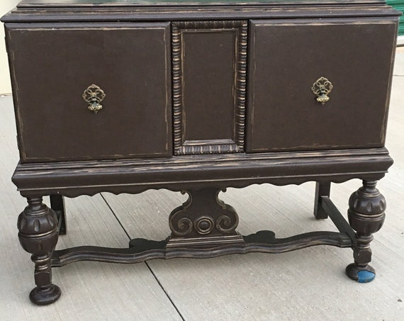 """Antique Bath VANITY -  In Stock Antique Furniture to be Converted and Painted ~ French Country Chic 43"""" Wide ~ BEAUTIFUL!"""