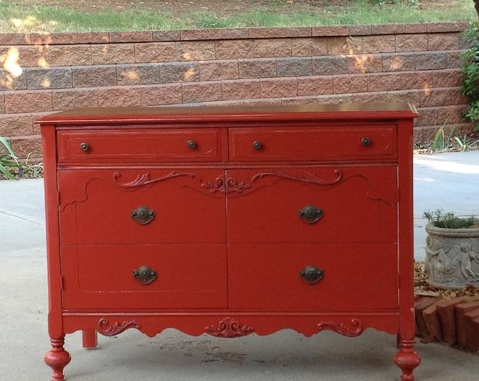 Antique Dresser BATH VANITY CABINET We Will Custom Convert from an Antique Dresser For Your Bathroom Makeover Remodel