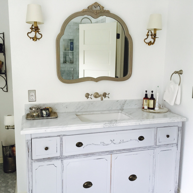 BATHROOM VANITY For Double or Single Sink We Custom Convert from ...
