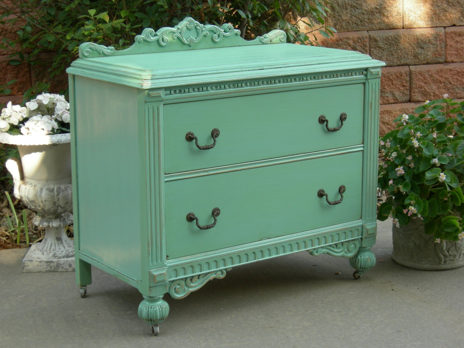 Painted Antique Dresser Order Custom We Restore And