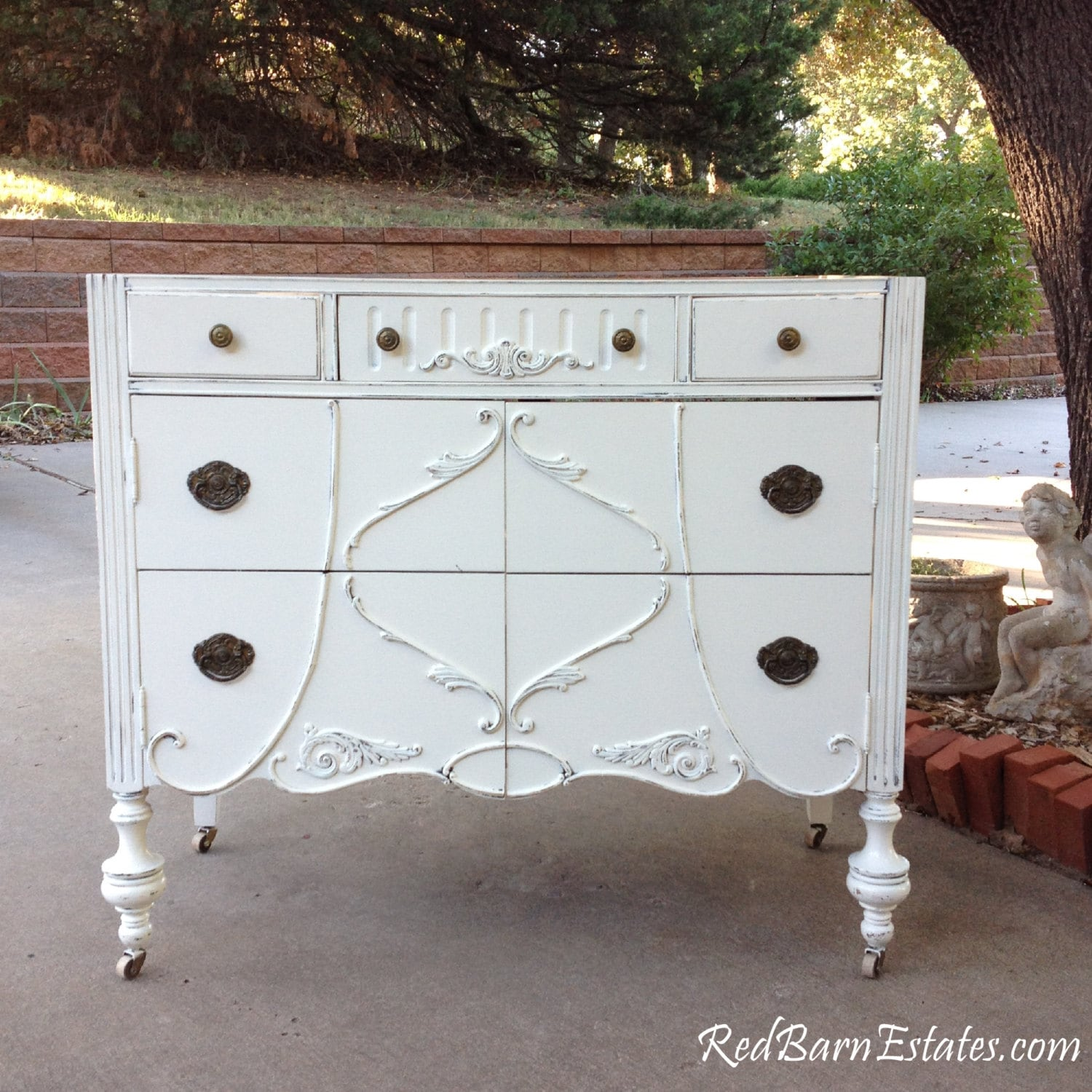 Antique BATHROOM VANITY Dresser Custom Found & Converted To Your